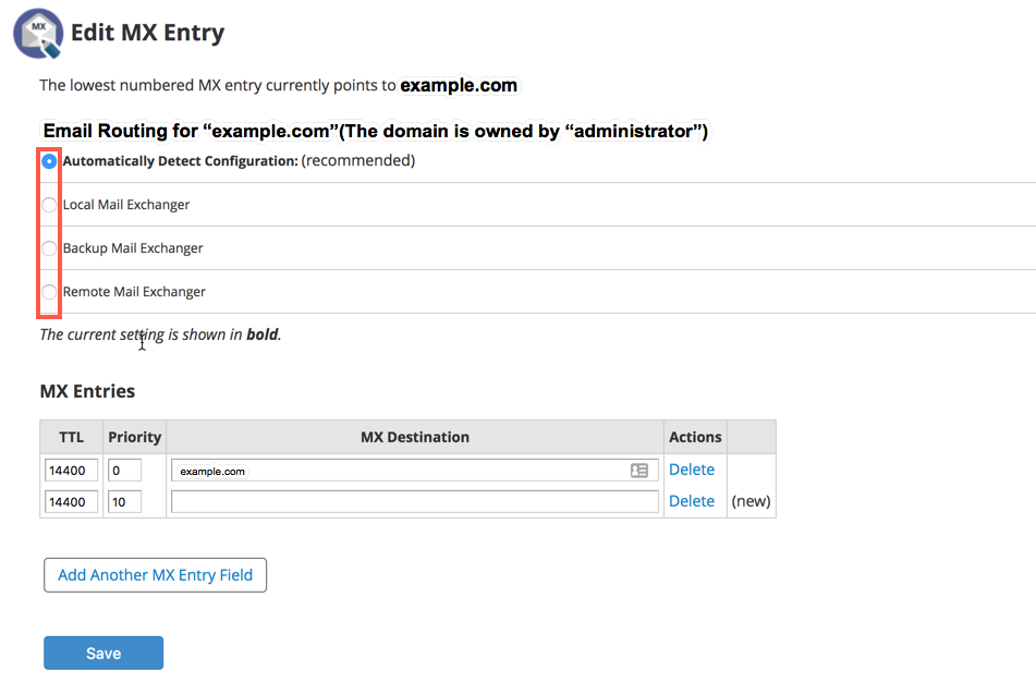 Click on DNS functions
