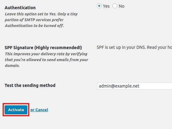 wordpress plugins mailpoet activate mailpoet