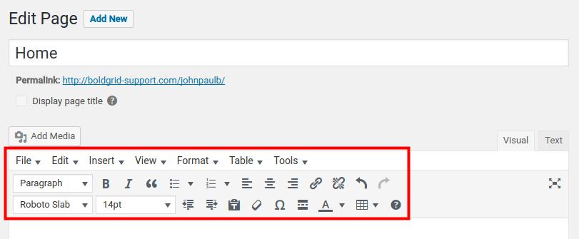 How to Install TinyMCE Advanced in WordPress   InMotion