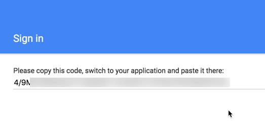 Copy Access Code