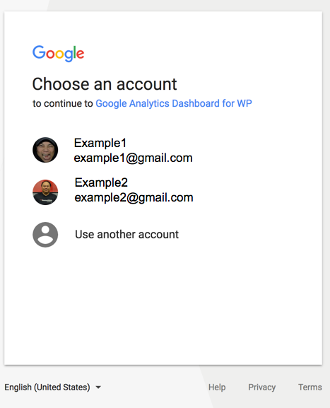 Connect to Google Account
