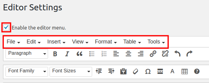 How to Customize the WordPress Editor with TinyMCE Advanced