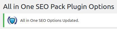 wordpress all in one seo pack all in one seo settings updated