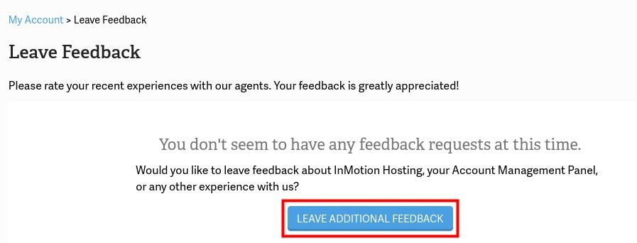 amp manager feedback leave additional feedback