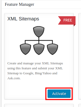 wordpress all in one seo pack xml sitemap activate xml sitemap