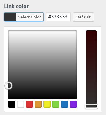 wordpress woocommerce storefront customize footer color footer link color