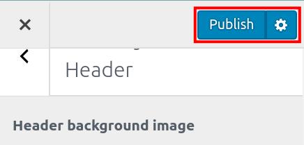 wordpress woocommerce storefront customize header publish storefront header changes