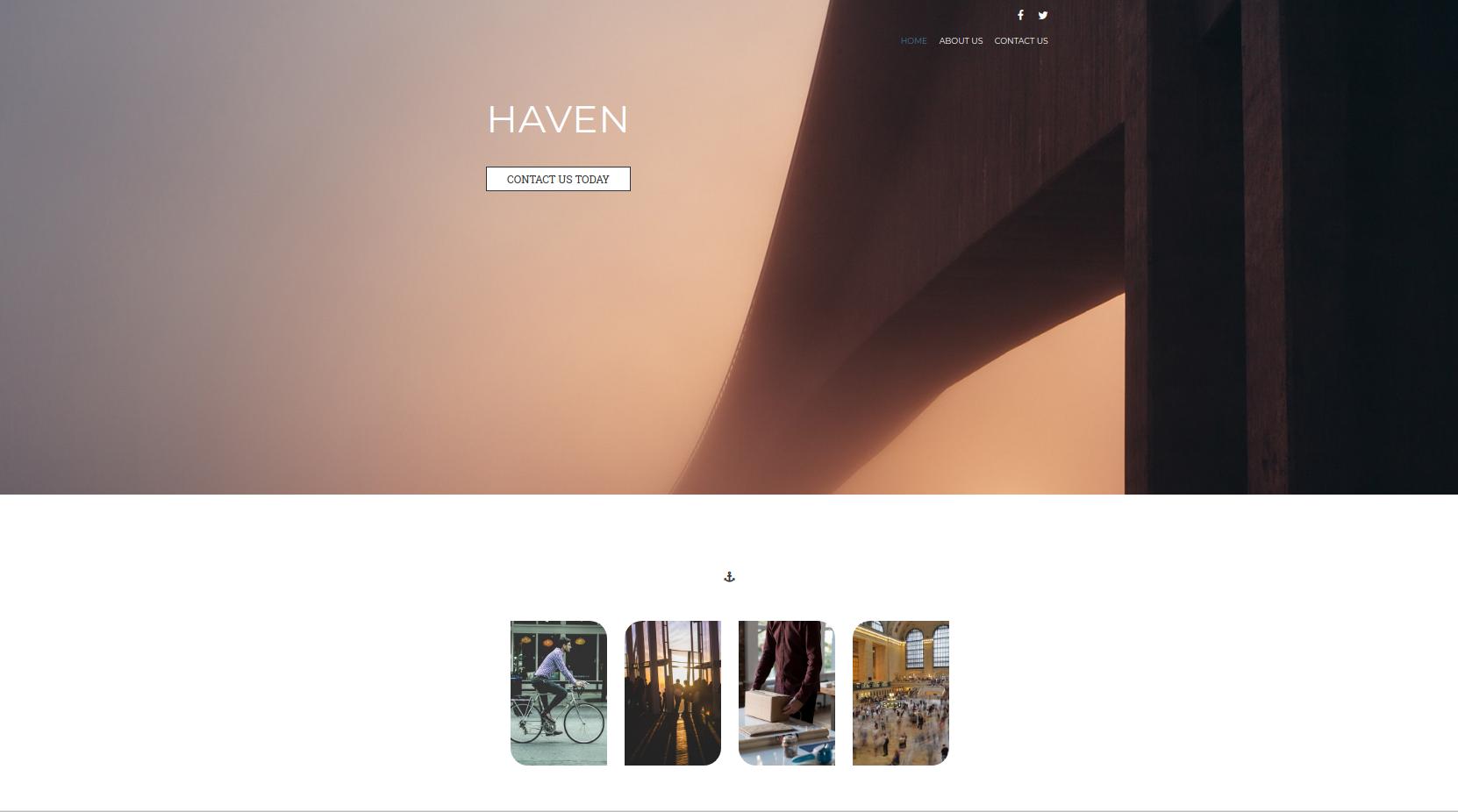 Haven Theme Screenshot