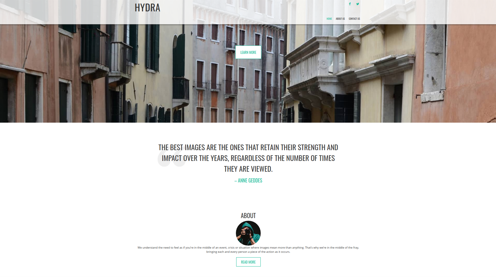 Hydra Theme Screenshot