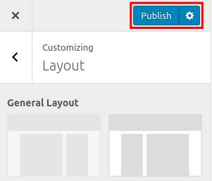 wordpress woocommerce storefront customize layout publish layout