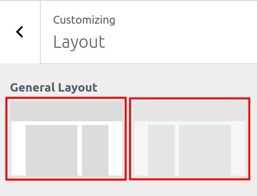 wordpress woocommerce storefront customize layout selecting layout option