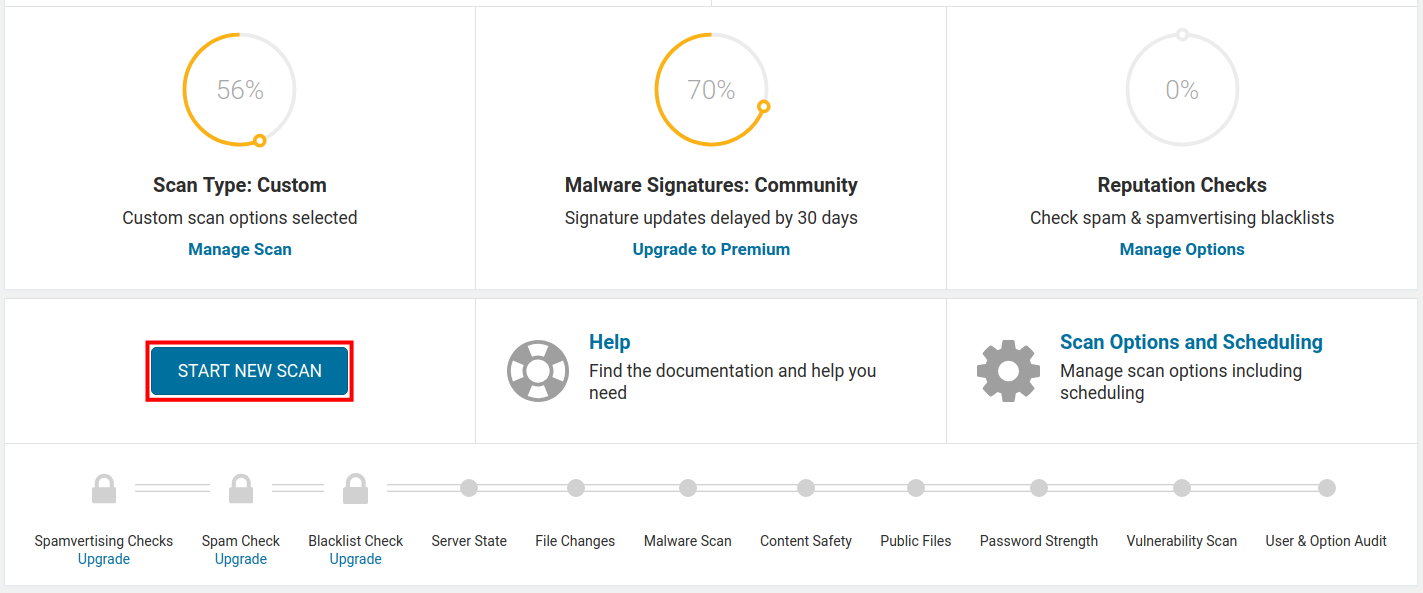 How to scan your WordPress site for Malware with Wordfence