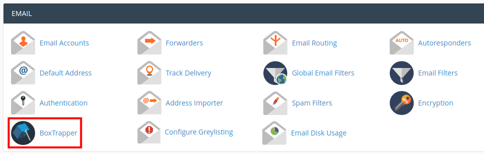 email boxtrapper edit forward list boxtrapper in cpanel