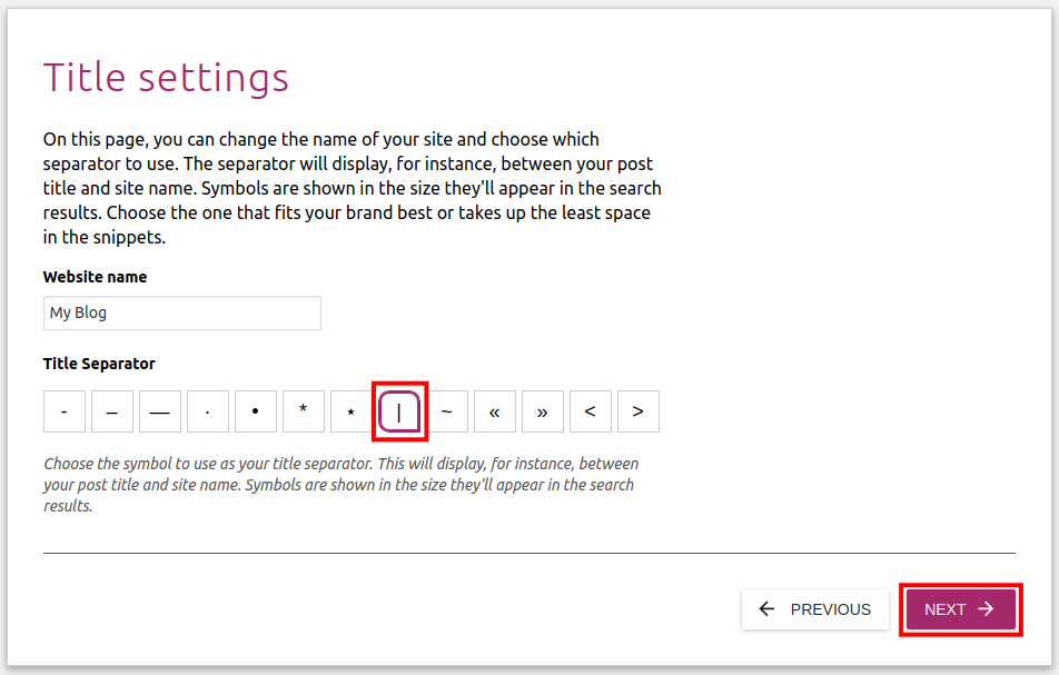 How to run the Yoast SEO Configuration Wizard | InMotion Hosting