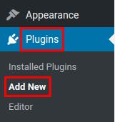 wordpress google analytics by monsterinsights add new plugins