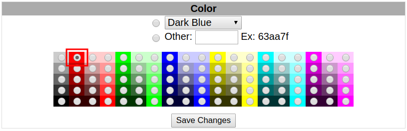 webmail squirrelmail highlighting selecting highlight color