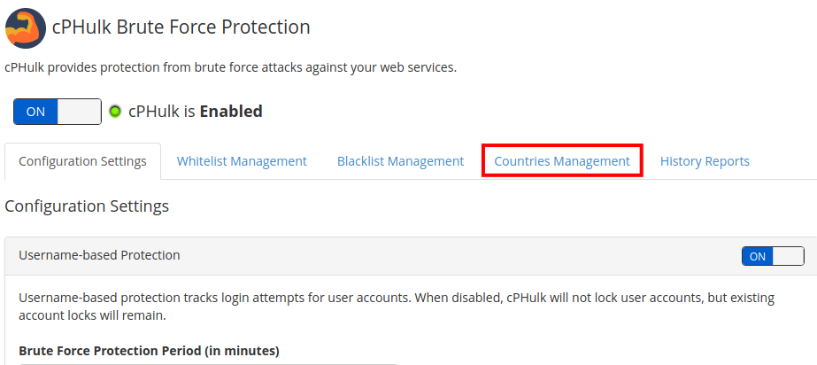 How to Blacklist/Whitelist a Country in WHM   InMotion Hosting