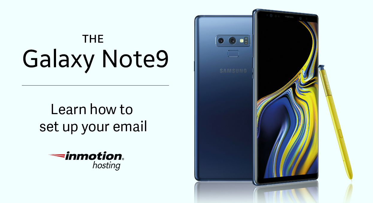 How to set up email on samsung mobile