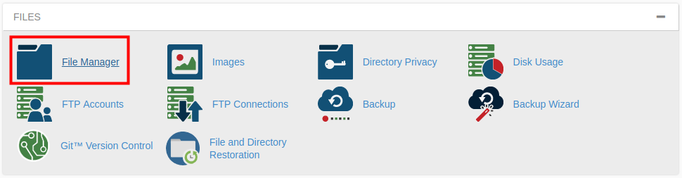 cpanel file manager restore trash cpanel file manager