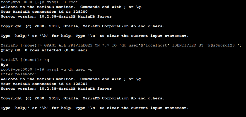Create a Database in the Command Line Interface (CLI)