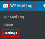 wordpress wp mail logging wp mail log settings
