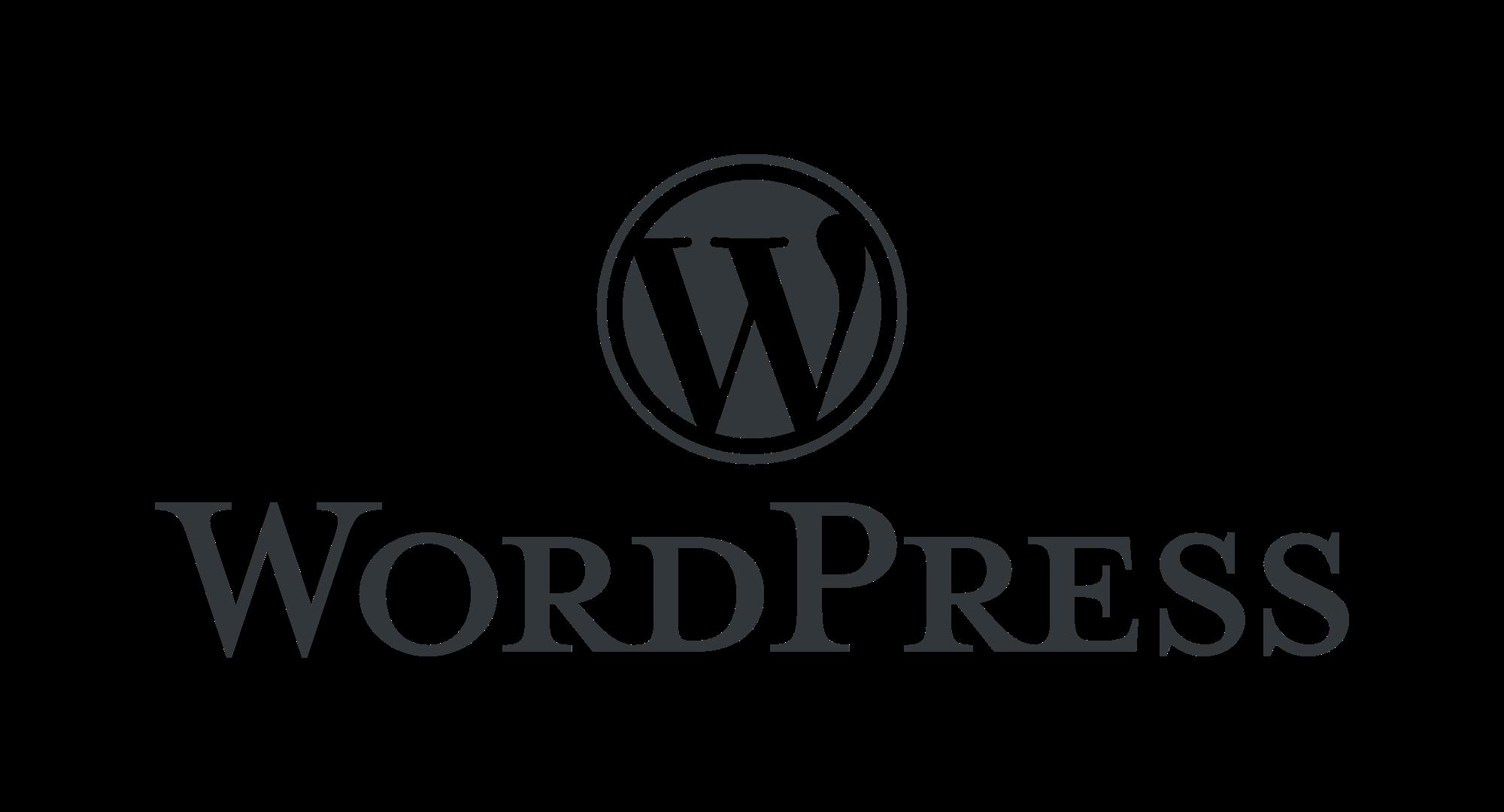 WordPress logotype alternative