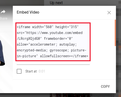 How to Embed a Video on a Webpage | InMotion Hosting Support Center