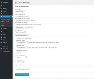 access monitor add report