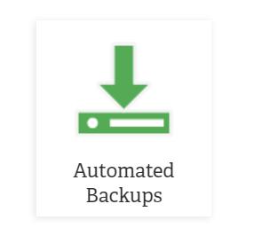 automated backups icon amp marketplace
