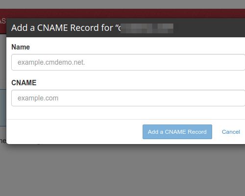 create cnames 03