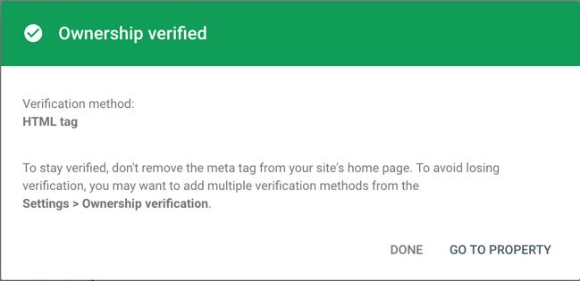 jetpack google verify 10