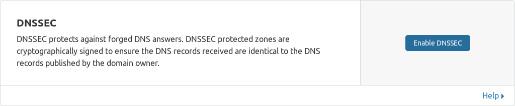 cloudflare dnssec enable