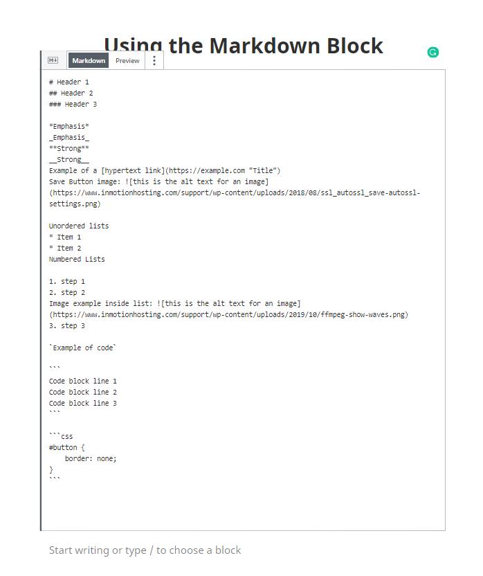 jetpack markdown block 1