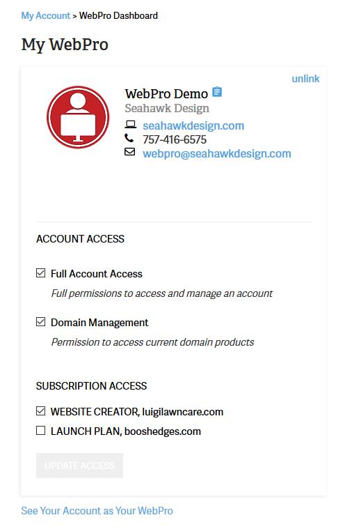 Web Pro ID