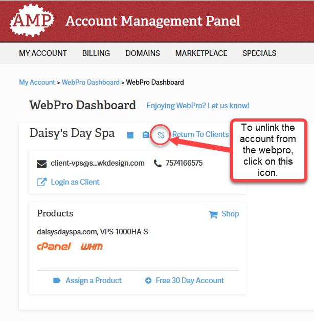 Webpro Admin