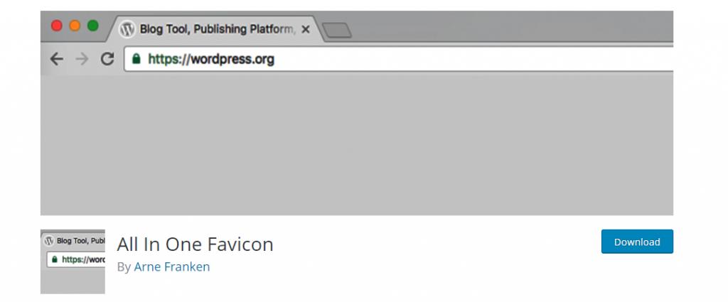 All In One Favicon – WordPress plugin WordPress org
