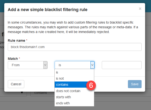 blacklisting imh 6