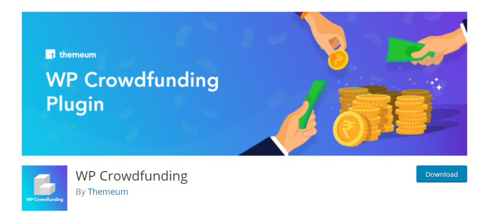 WP Crowdfunding WordPress WooCommerce Donation Plugin