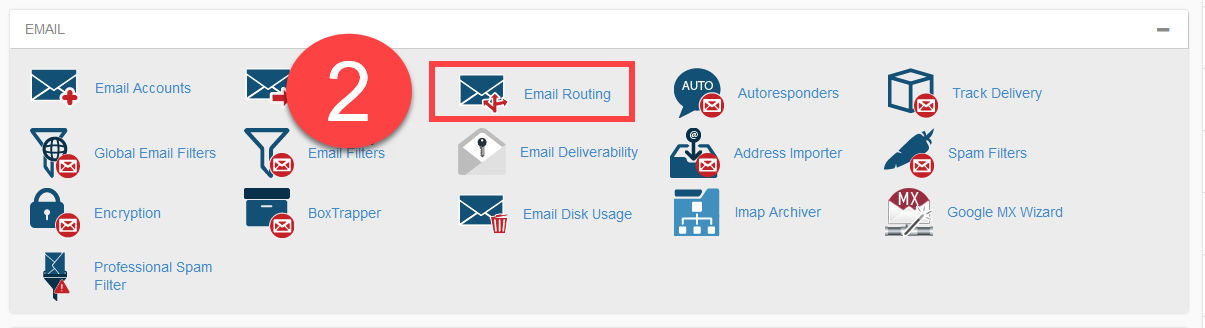 Email Routing icon