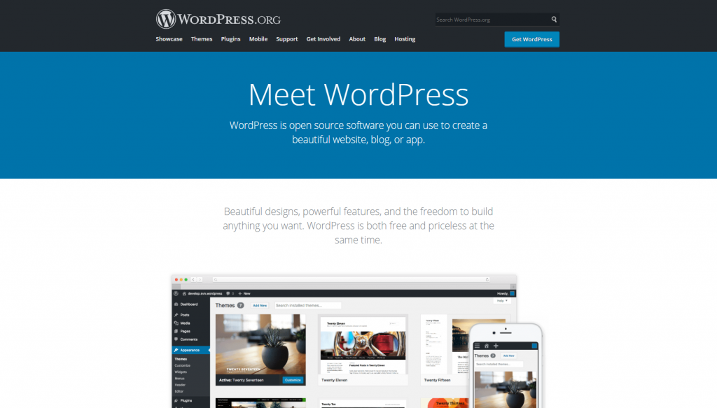 wordpress.org example