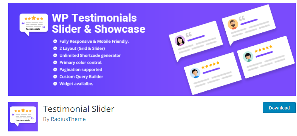 Testimonial Slider – WordPress plugin WordPress org