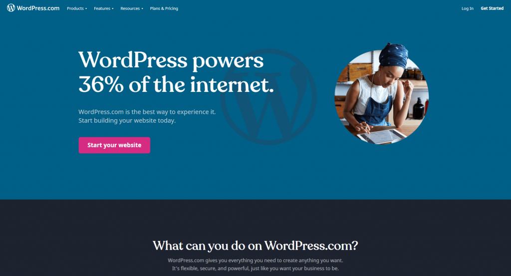 wordpress.com example