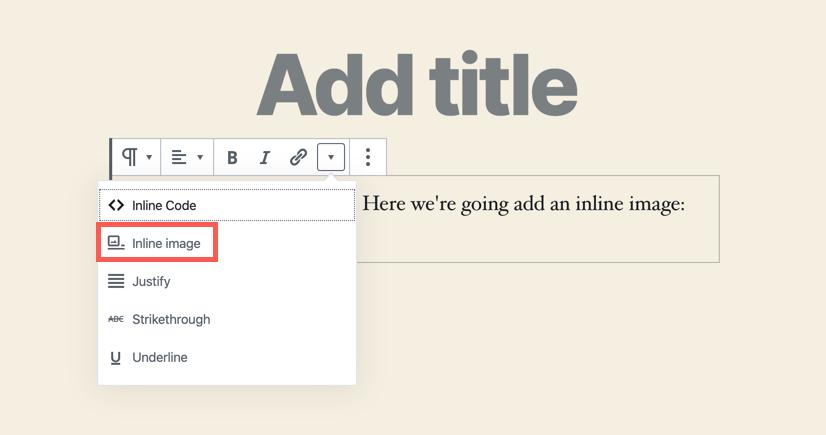 Add an inline image