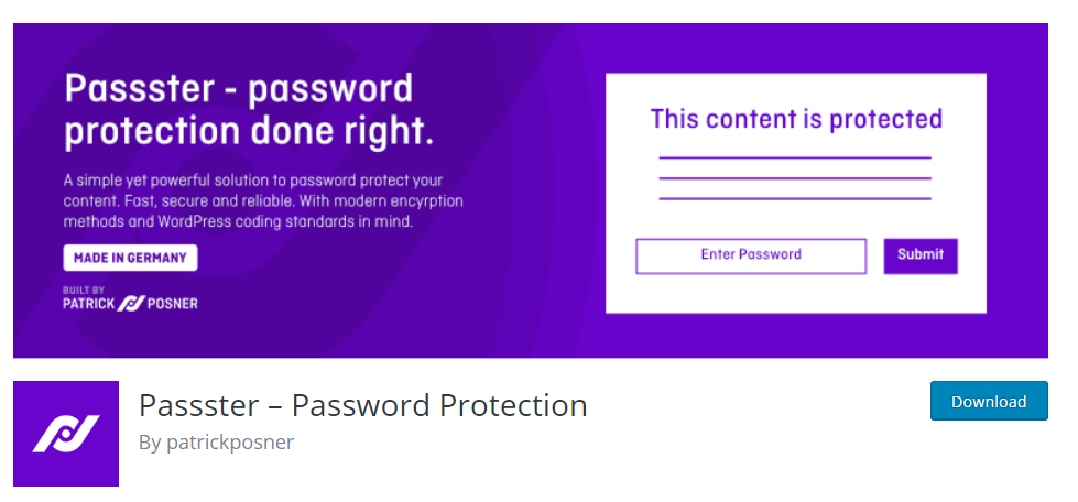 Password protect wordpress content within a post
