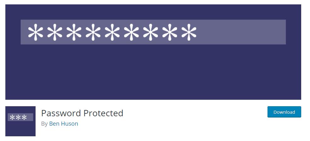 password protect your entire wordpress website