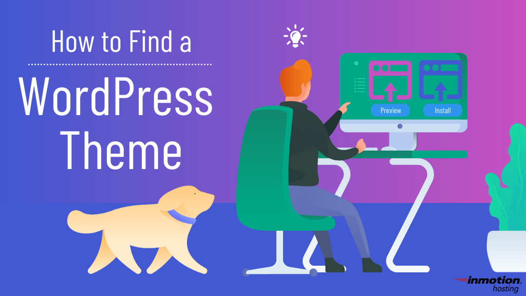 How to find a WordPress theme