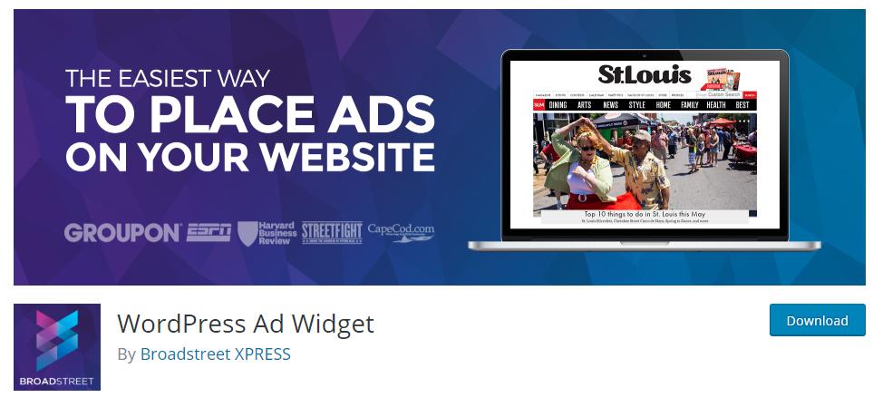 Ad widget plugin for wordpress
