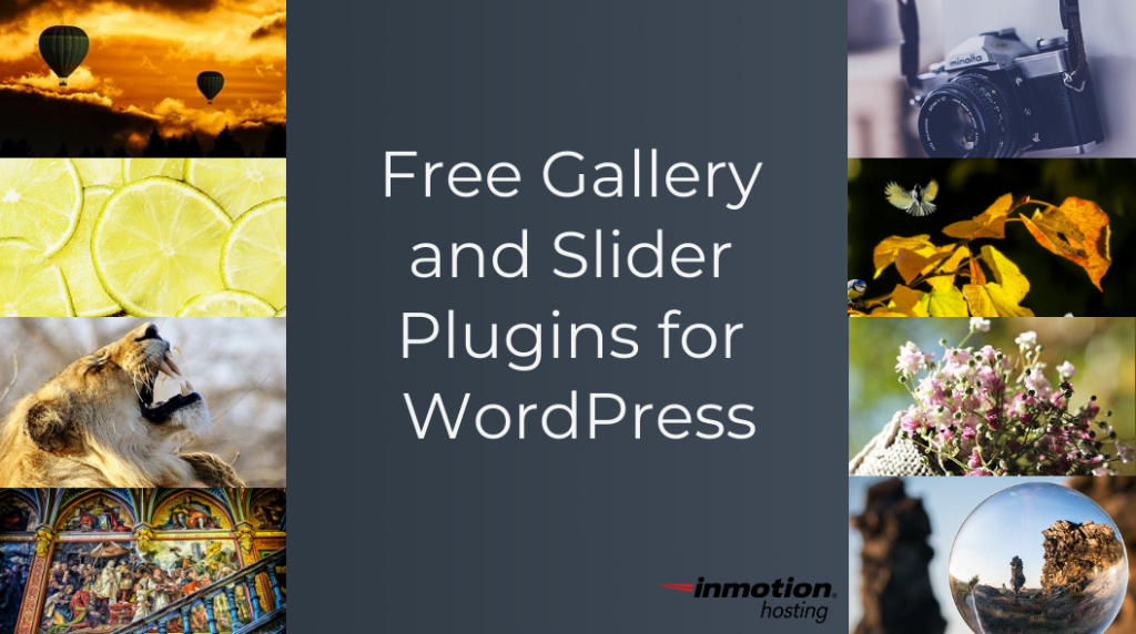 free gallery and slider plugins for WordPress