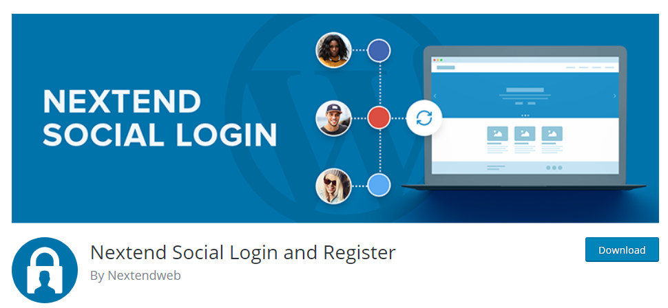 single sign-on to WordPress with social media accounts