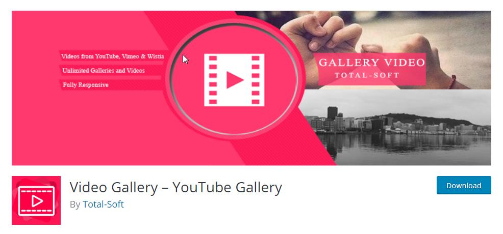 free video gallery plugin for wordpress
